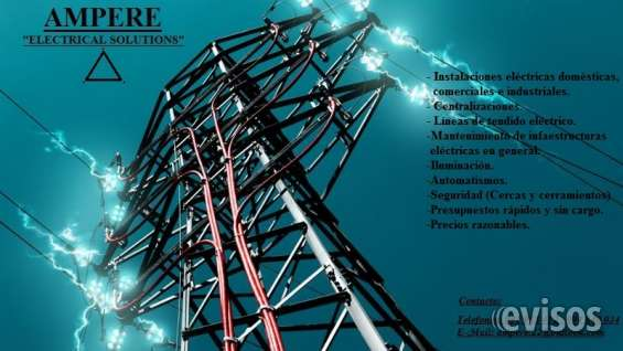 Electricista - electrotecnia ampere