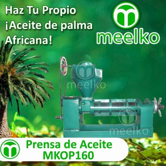 Prensa de aceite meelko mkop160