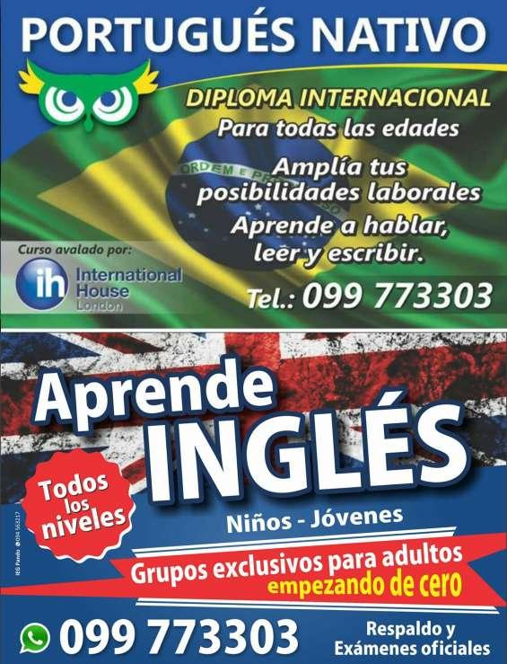 Clases de portugués y inglés - atlántida y pando