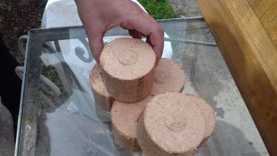 Briqueta madera 100% natural
