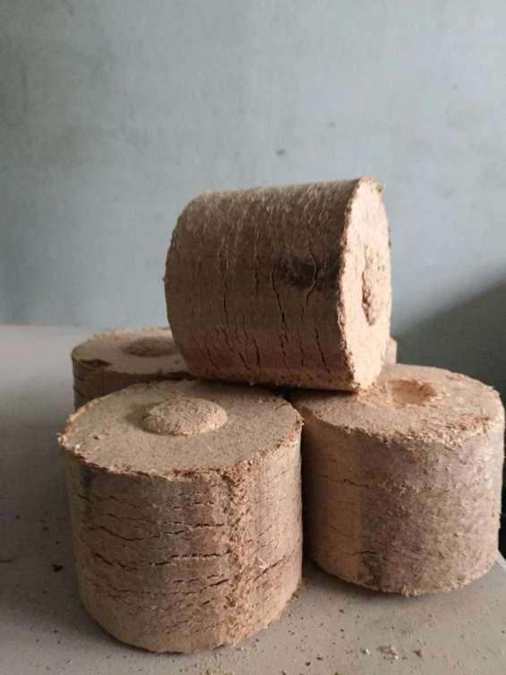 Briquetas de madera 100% natural