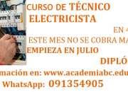 Curso de técnico en Electricidad