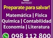 Matematica Fisica Quimica Contabilidad Economía Financiera Literatura Clases Particulares
