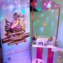 Los mejores helados soft, sundae y otros a tu gusto!!
