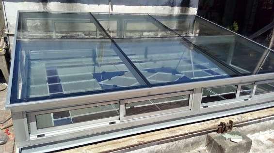 Claraboyas de vidrio