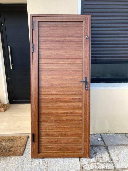 Puertas serie 30 imitación madera